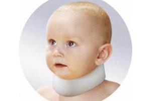 Шина-воротник Шанца для недоношенных и новорожденных детей